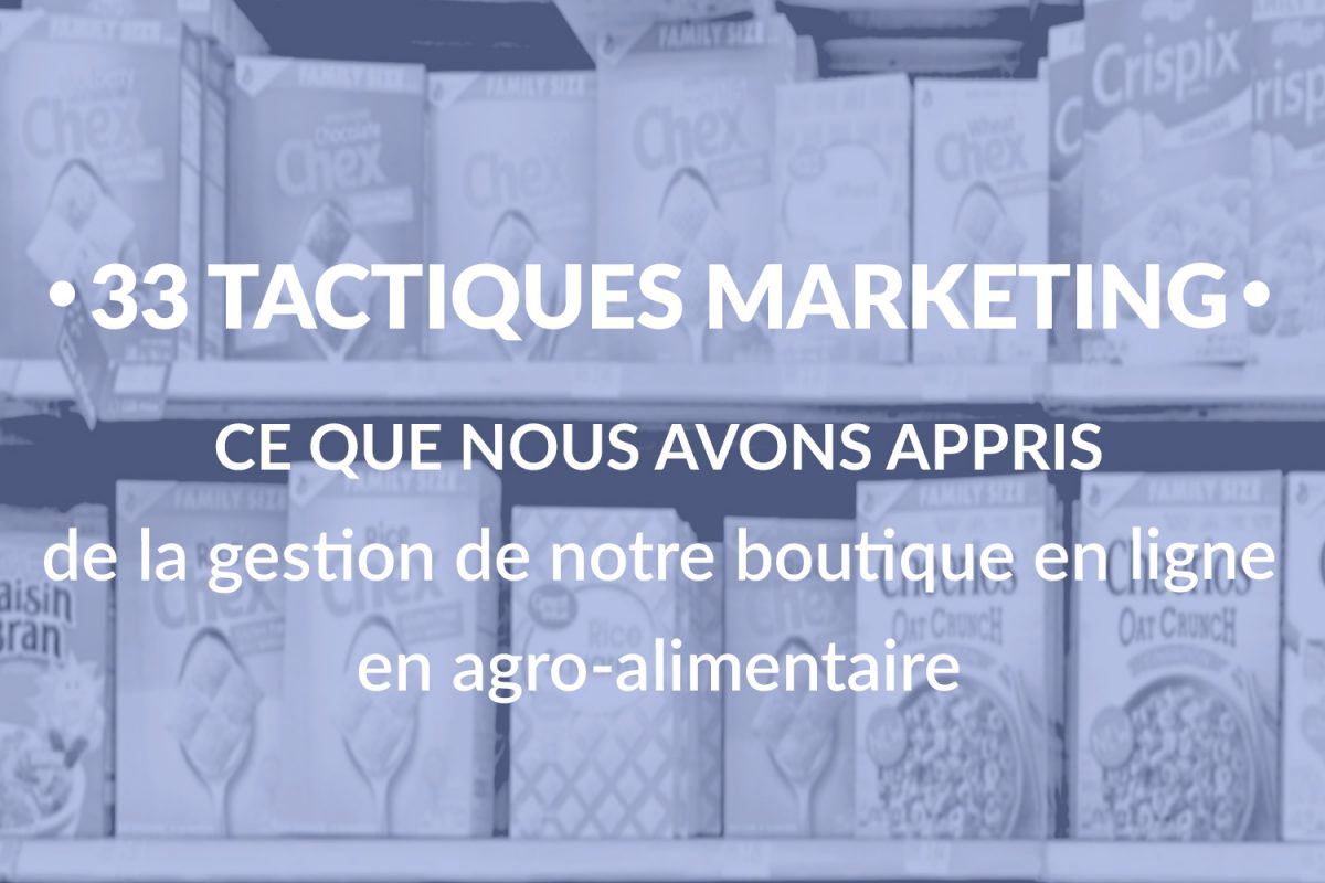 tactiques marketing gestion boutique en ligne
