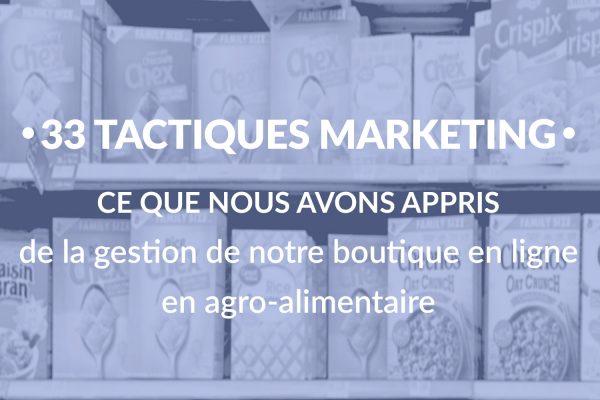 tactiques marketing gestion boutique en ligne