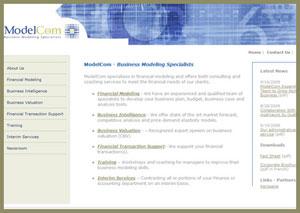 ModelCom website