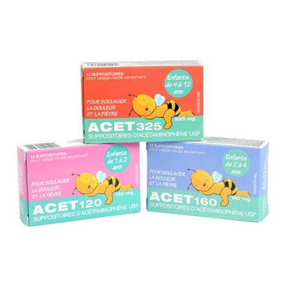 ACET packaging for kids