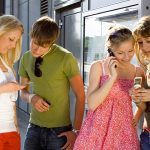 Young people social media