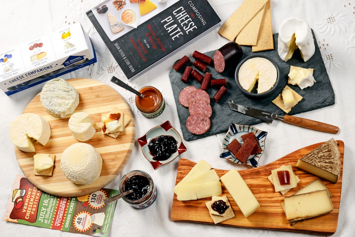 cheese plate - food photography