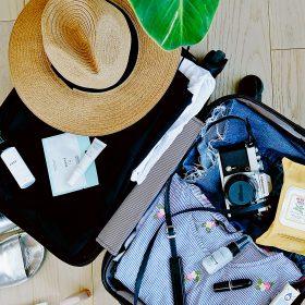 suitcase travel enjoy retirement
