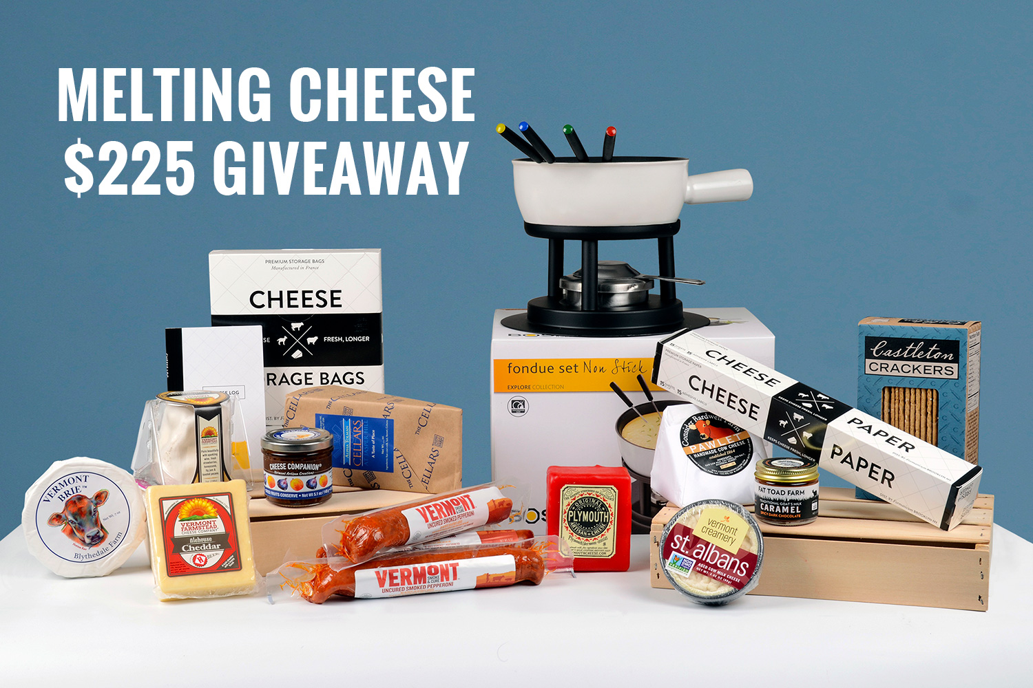 Sweepstakes May 2017 Cheese Companions