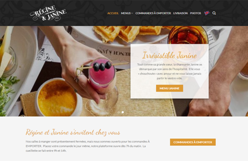 site web regine Cafe