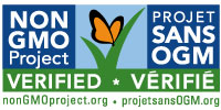 bilingual non-GMO logo