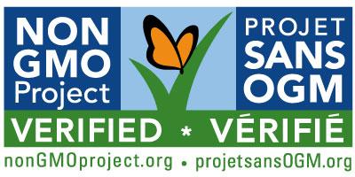 bilingual non-GMO seal