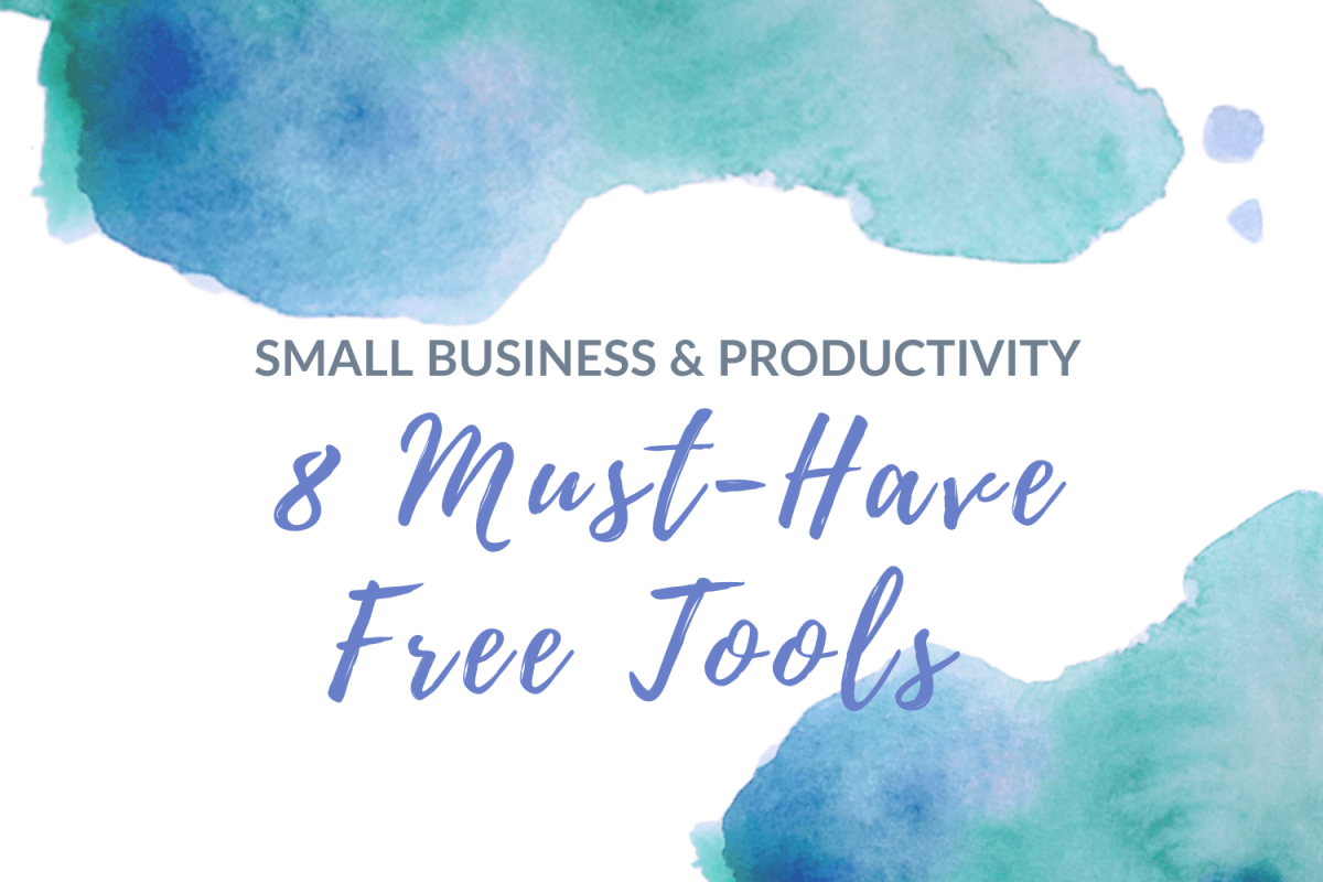 8 free small business productivity tools