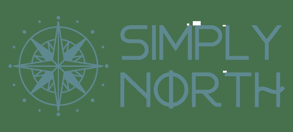 Simply North - logo branding